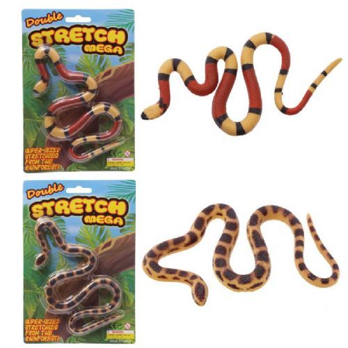 Kids MEGA Stretchy Snake Toy for Birthday & Xmas Stocking Filler Present